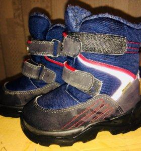 SKANDIA Детские ботинки зимние размер 21