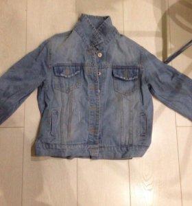 Джинсовая куртка 42-44 размер