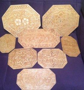Деревянные разделочные доски ручной работы