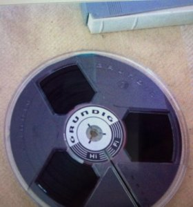 Магнитная лента для катушечного магнитофона