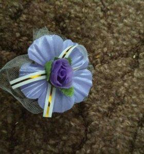 Цветочки для гостей на свадьбу.