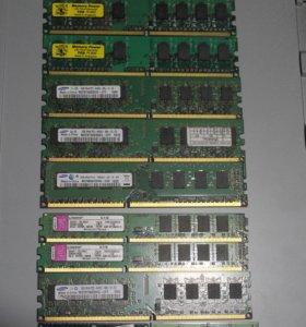 Оперативная память ddr3, ddr2