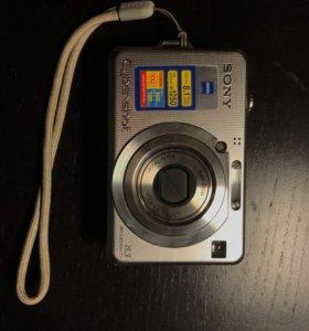 Фотоаппарат Sony Cyber-shot DSC-W100 8.1 мп