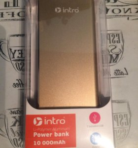 Зарядка ( Intro Power Bank 10000mAh )