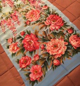 Павловопосадский шёлковый шарф