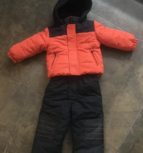 Новый комплект осень-зима(куртка и полукомбинезон)
