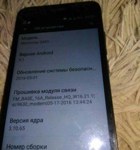 Смартфон микромакс Q465