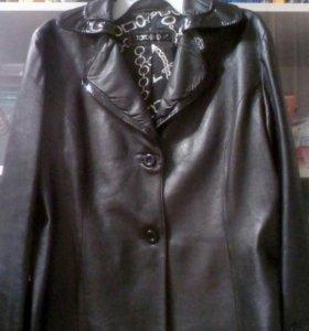 Куртка пиджак женский кожа Тото