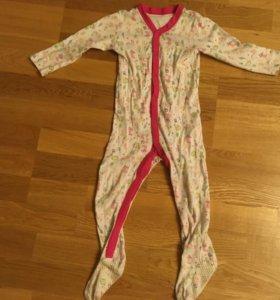 Пижамы на рост 80-86