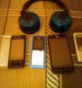 Телефоны под востановление