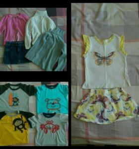Вещи для девочки 86-92