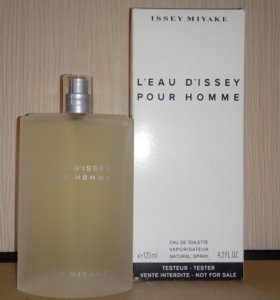 "Тестер ""ISSEY MIYAKE"" ""L`EAU D`ISSEY. POUR HOMME"""