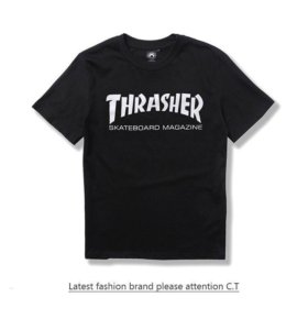 Футболки Supreme , Thrasher | S - M |