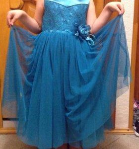 Платье для принцессы 3-5 лет