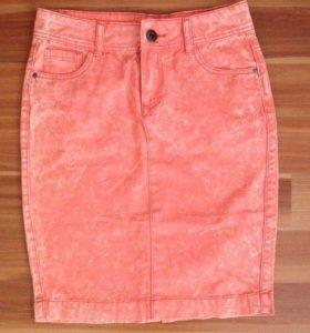 Новая джинсовая юбка карандаш