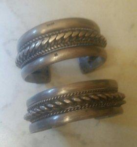 Браслеты серебро 10000руб и 6000руб