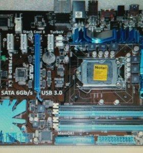Мастерская плата и процессор Asus и xeon