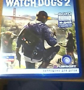 Игра для ps4 Woth Dogs 2