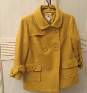 Пальто укороченное ( куртка),