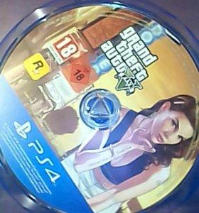 GTA 5 игра для ps4