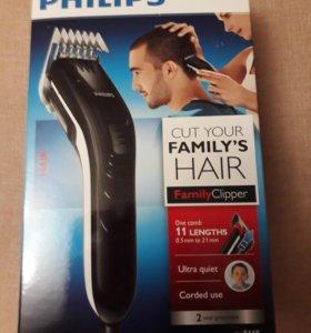 Новая машинка для стрижки волос Philips.