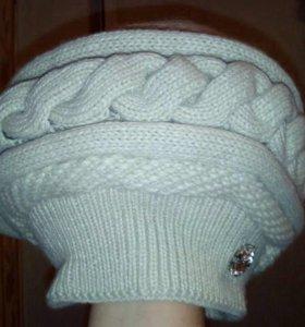 Новая теплая зимняя шапка с биркой