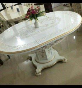 Стол раздвижной круглый 120 до 160 см