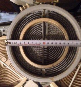 Конфорка 200мм для плиты. 2 зоны