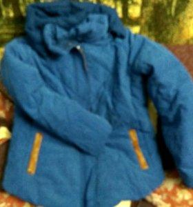 Куртка зима утиный пух