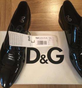 Туфли Dolce & Gabbana лакированные новые