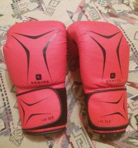 Боксёрские перчатки Domyos