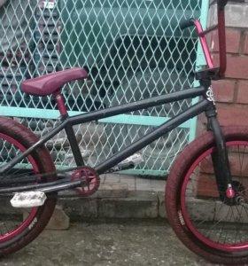 BMX черно-красный