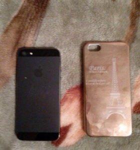 Продам iPhones 5 или обменяю на 5s с моей доплатой