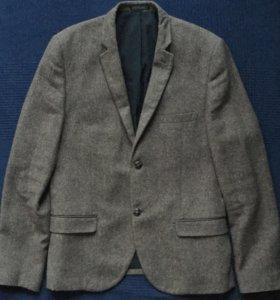Твидовый пиджак Topman