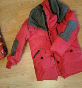 Куртка тёплая зима MONCLER