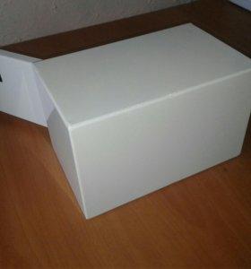 Ящик металлический, мини-сейф.