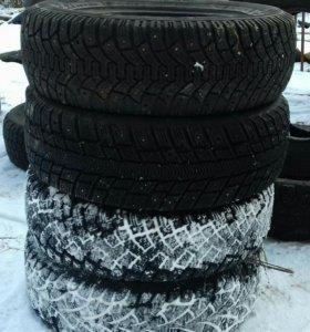 На 13 колеса зимние,