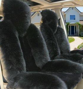 Чехлы меховые на автомобиль