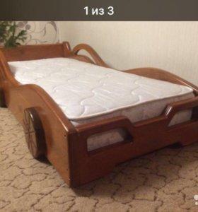 Кровать машина, орто матрас