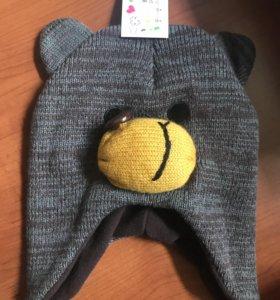 Новая Детская шапка, размер 52-54