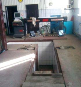 Геометрия колёс, ремонт подвески,двс