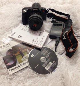 Зеркальный фотоаппарат Sony alpha DSLR-A290 +Сумка