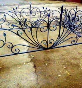 Кованые оградки в наличий