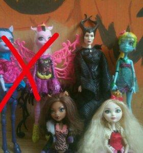 Куклы Монстер хай, ЕАХ...
