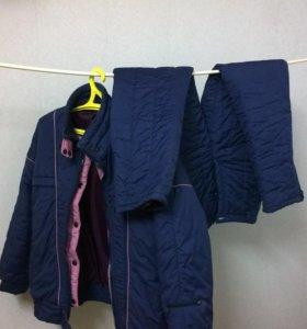 Пуховик + брюки (стеганые)