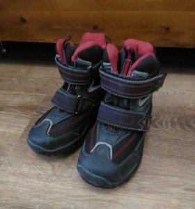 Ботинки теплые детские