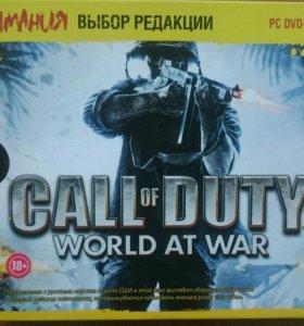 Лицензионный диск Call of Duty: World at War