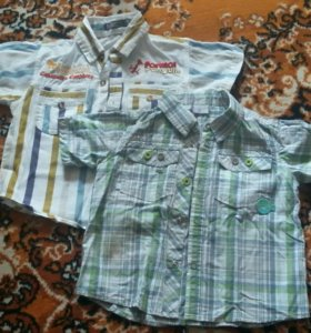 Рубашки 80 см