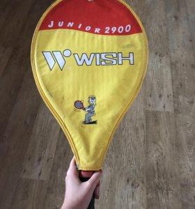 Ракетка теннисная детская