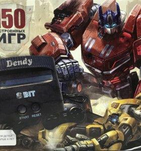 Игровая приставка денди transformers 150в1